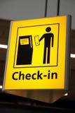 Знак авиапорта Стоковое Фото