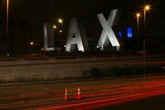 Знак авиапорта LAX Стоковое Изображение