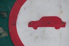 Знак автомобиля Стоковые Изображения