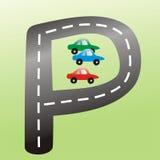 знак автостоянки Стоковое Фото
