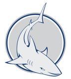 Знак акулы иллюстрация штока