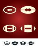 знак американского футбола Стоковое Изображение RF