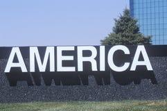 Знак Америка стоковое изображение rf