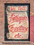 Знак античного магазина стоковые фото