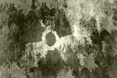 знак атома Стоковое Фото