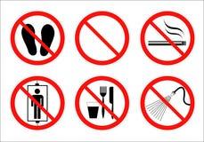 Знак безопасности Стоковые Изображения