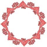 знак богато украшенный картины круглый Стоковая Фотография RF