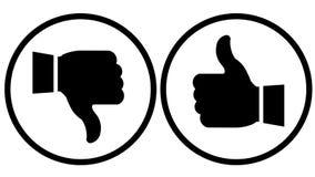 Знак большого пальца руки Стоковые Фото