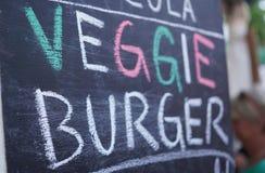 Знак бургера Veggie Стоковые Фото