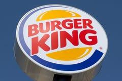 знак Бургер Кинг Стоковое фото RF