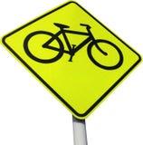 знак велосипеда Стоковые Фотографии RF