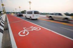 Знак велосипеда Стоковое Изображение
