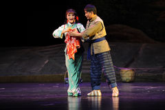 Знак внимания оперы Цзянси влюбленности безмен Стоковая Фотография