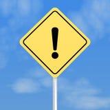 знак восклицательного знака Стоковые Фотографии RF