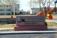 Знак входа парка Стоковые Фото