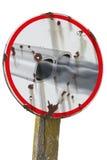 знак выхлопного газа стоковая фотография rf