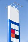Знак газа Стоковые Изображения