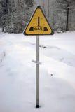 знак газопровода Стоковое Фото