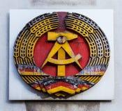 Знак ГДР Стоковые Изображения RF
