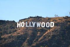 Знак Голливуд Стоковые Изображения RF