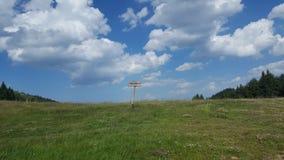 Знак горы стоковая фотография