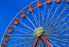 Знак ` гостеприимсва Цюриха ` подшипника колеса Ferris Стоковые Фотографии RF