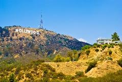 Знак Голливуда Стоковое Изображение RF