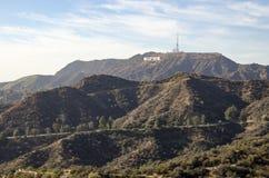 Знак 3 Голливуда Стоковое Изображение RF
