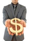 знак доллара мы Стоковое фото RF
