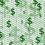 знак доллара предпосылки Стоковое Изображение RF