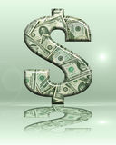 знак доллара 11 Стоковые Фотографии RF