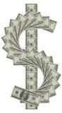 Знак доллара Стоковая Фотография RF