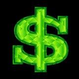 знак доллара Стоковые Фото