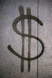 знак доллара Стоковое Фото