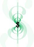знак доллара line1 Стоковые Фотографии RF