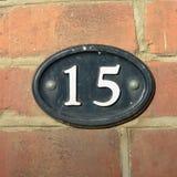 Знак дома 15 Стоковые Изображения RF