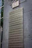 Знак Европейского парламента Стоковые Фотографии RF