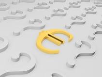 знак евро Стоковое Изображение RF