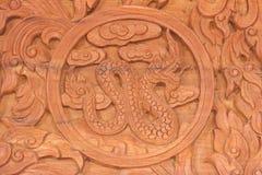 Знак животного зодиака дракона китайский Стоковые Фотографии RF