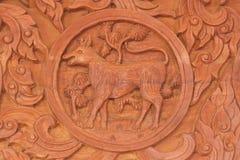 Знак животного зодиака Dgg китайский Стоковое Изображение RF