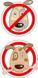 Знак запрещая собак Стоковое Изображение RF