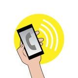 Знак звеня телефона бесплатная иллюстрация
