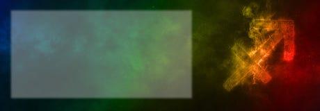 Знак зодиака Стрелца Знак гороскопа Стрелца Te шаблона Стоковое Изображение