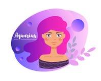 Знак зодиака horoscope космофизики Иллюстрация изолированная вектором иллюстрация штока