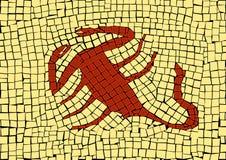 Знак зодиака Scorpio иллюстрация штока