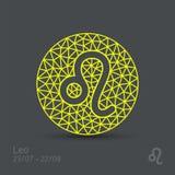 Знак зодиака Лео бесплатная иллюстрация