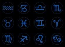 Знак зодиака символа Стоковое Изображение