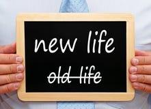 Знак изменения образа жизни Стоковое фото RF
