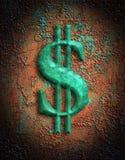 знак изображения доллара Стоковое фото RF