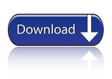 знак иконы download Стоковые Изображения RF